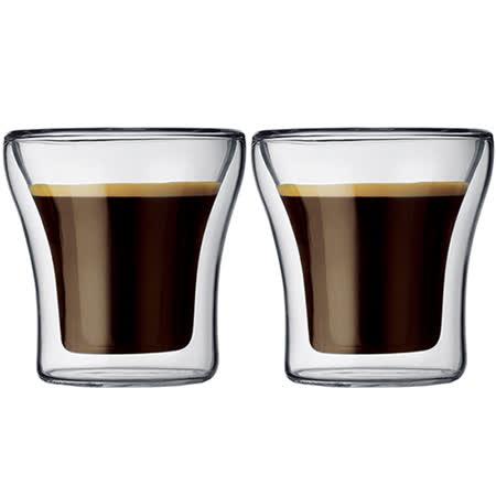 丹麥Bodum ASSAM雙層玻璃杯100CC(一盒二入)