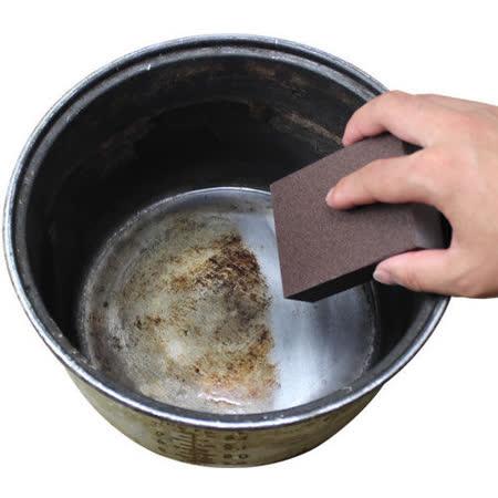 【PS Mall】金鋼砂去汙除垢清潔海綿刷 除鐵鏽魔力擦_2組 (J1920)