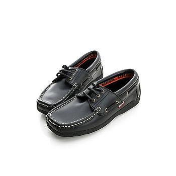 【ORIS】(女) (皮)休閒鞋-黑-788A01