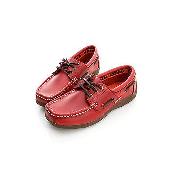 【ORIS】(女) (皮)休閒鞋-紅-788A07
