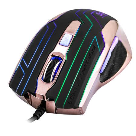 SETAS鋼鐵力士電競專用滑鼠(GKM-807)