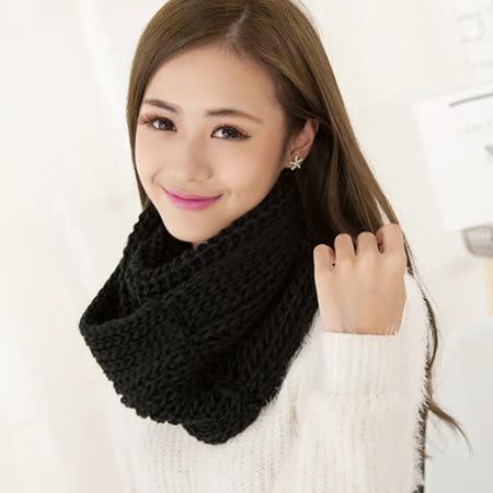 【PS Mall】韓國素色學院風圍巾 超寬加厚保暖圍脖 (G1832)