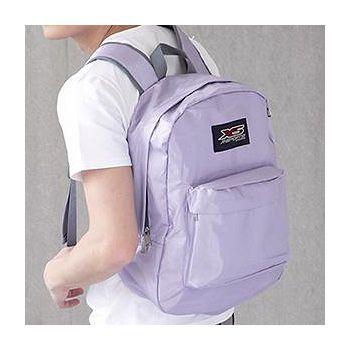 X-SPORTS 輕盈系炫彩尼龍後背包 紫(CG41136-V)