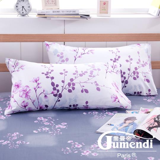 【法國Jumendi-花境私語】台灣製活性柔絲絨枕套-2入