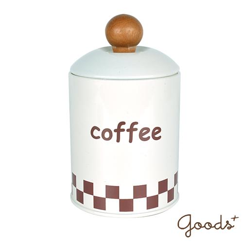 ~goods ~歐式鄉村 鐵製儲物罐收納罐_IJ01^(白~Coffee^)