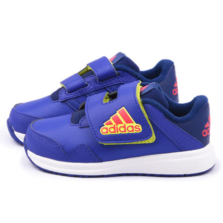 Adidas 小童 透氣運動鞋B24551-紫