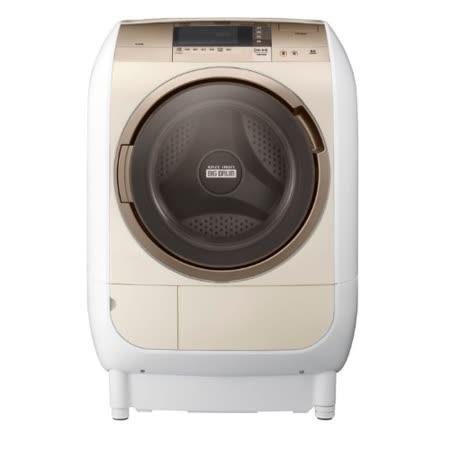 日立HITACHI 12公斤 風熨斗.滾筒式洗脫烘洗衣機 SFBD2900W (左開)
