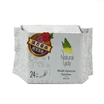 NATURAL LADY漢方草本衛生棉護墊24片