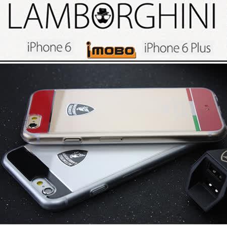 義大利Lamborghini 藍寶堅尼授權iPhone 6 PLUS / 6S PLUS TPU防摔手機保護殼(5.5吋)