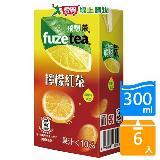 FUZE TEA飛想茶檸檬紅茶300ml*6