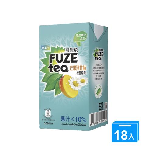 FUZE TEA芒果洋甘菊複合綠茶300M^~18