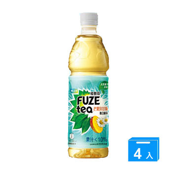 FUZE TEA芒果洋甘菊複合綠茶580*4