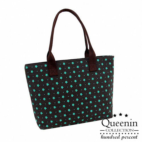 DF Queenin ~ 甜心女孩帆布款專屬 包~黑色