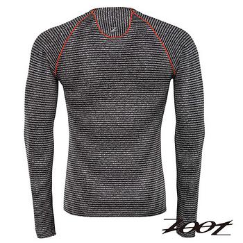 ZOOT 頂級極致型輕肌能壓縮壓縮上衣(男) (雅灰/酷橘) Z1504054