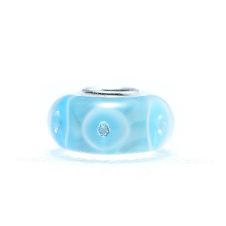【YUME】YUME Beads-琉璃系列-藍色泡沫
