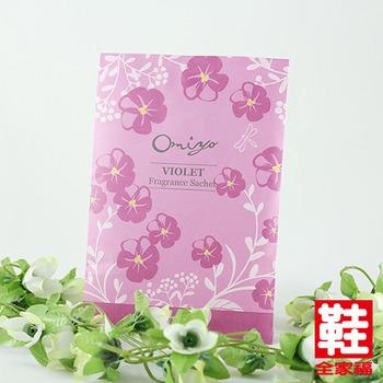 Blossom 微膠囊香氛袋 紫羅蘭 鞋全家福