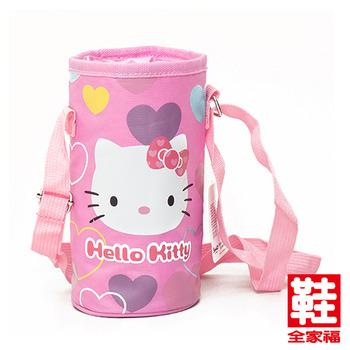 Hello Kitty 水壺袋 桃紅  鞋全家福