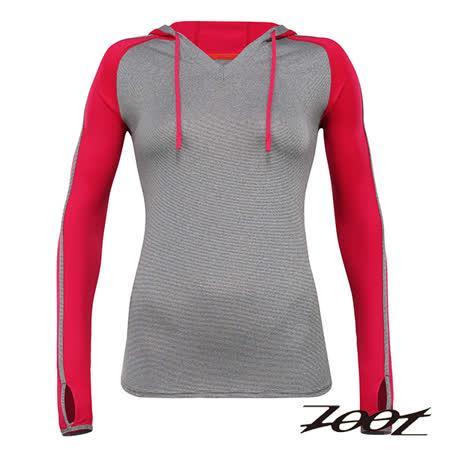 ZOOT頂級極致型潮風抗寒連帽式上衣(女)(蜜紅)Z1504034