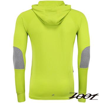ZOOT頂級極致型潮風抗寒連帽式上衣(男)(翠黃) Z1504049