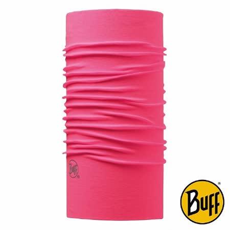 BUFF 粉紅邂逅 素面經典頭巾