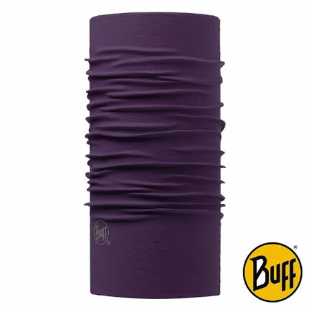 BUFF 神秘黛紫 素面經典頭巾