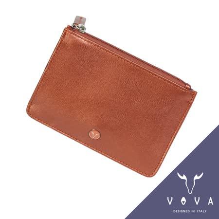 VOVA 高第系列水波紋悠遊卡夾(珠光粉紅)VA105W017RD