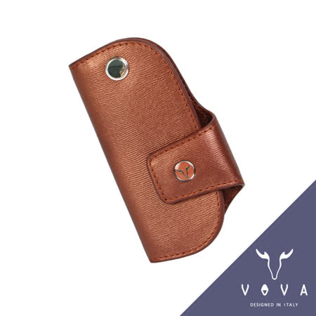 VOVA 高第系列水波紋單鎖包(珠光粉紅)VA105W026RD