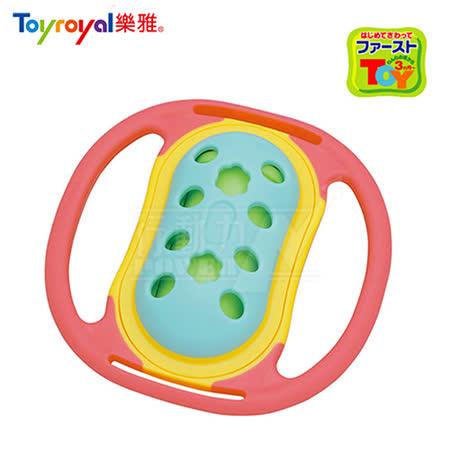 日本《樂雅 Toyroyal》LOVE系列-風鈴固齒玩具(風鈴聲)