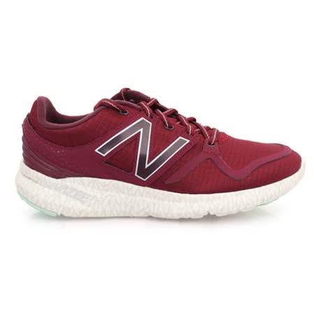 (女) NEWBALANCE VAZEE 系列 輕量跑鞋- 慢跑 NB N字鞋 酒紅