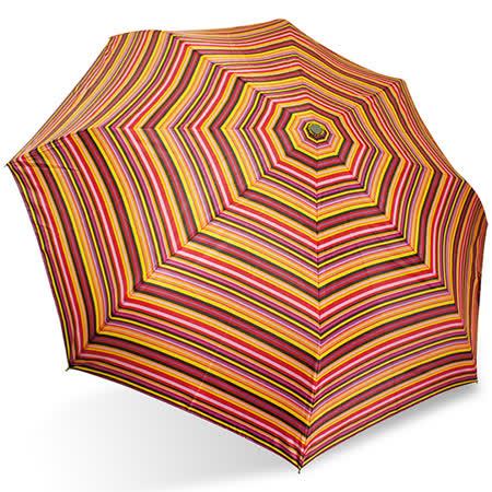 【rainstory】華麗彩條抗UV隨身自動傘