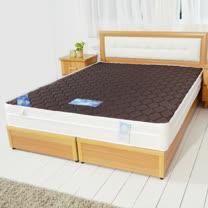 HAPPYHOME 英式3.5尺單人加大經典雙色三線獨立筒彈簧床墊GA15-3.5