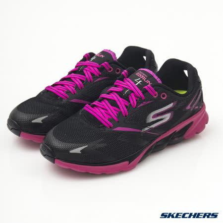 SKECHERS (女) 跑步系列 GO Run 4 - 13853BKHP