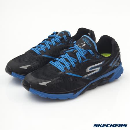 SKECHERS (男) 跑步系列 GO Run 4 - 53853BKBL