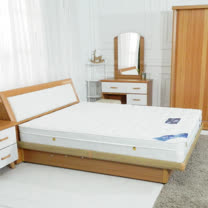 HAPPYHOME 法式3尺單人三線硬式獨立筒彈簧床墊GA18-3