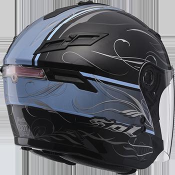 i-mini DV 安全帽行車紀錄器【SOL SO-1 風行彩繪 半罩式安全帽】