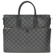 Louis Vuitton LV N41564 7 days A Week 黑棋盤兩用公事包_預購