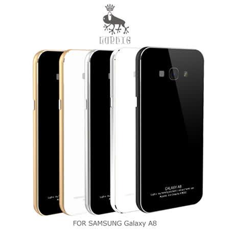 LUPHIE SAMSUNG Galaxy A8 金屬邊框鋼化背殼