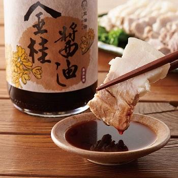 正宗豆油伯金桂醬油500ml(六堆釀出品)