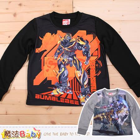 魔法Baby 男童長袖T恤 變形金剛授權正品 k44331
