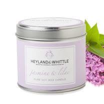 H&W英倫薇朵 茉莉丁香香氛燭罐 180g