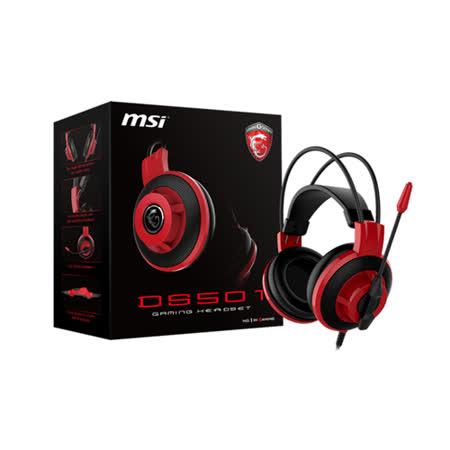 【MSI微星】DS501玩家級線控電競耳麥