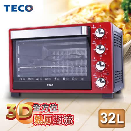 【開箱心得分享】gohappy快樂購【TECO東元】32L雙溫控電烤箱 YB3201CBR價格台北 市 愛 買