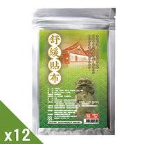 【GMP奈米製藥】舒緩貼布(10片/包)X12回饋組 +贈一條根麒麟竭舒緩凝膠滾珠瓶(70ML)