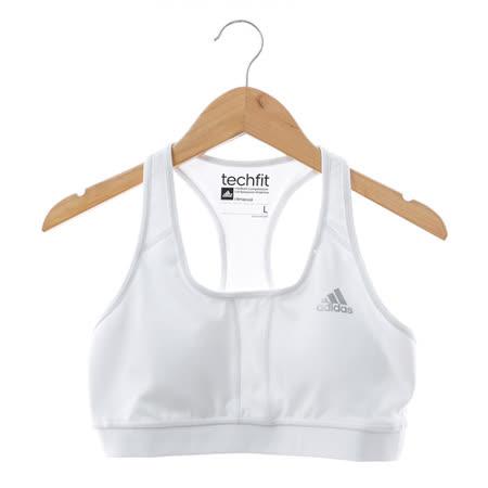 adidas (女)有氧韻律BRA(小背心)-白-F82747