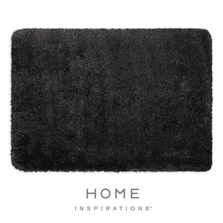 【Home】纖柔記憶綿浴墊 - 曜黑(43.2x61cm)