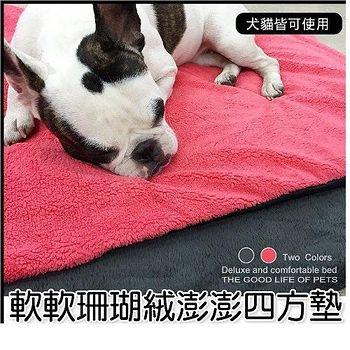 外銷原單 美國羊毛絨寵物床墊 S號