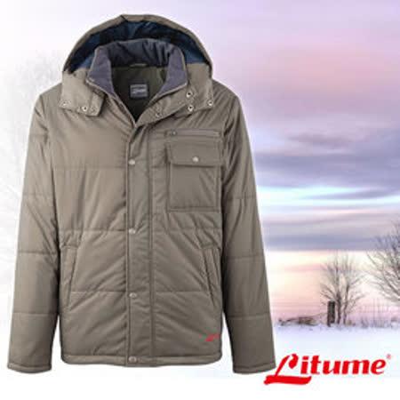 【意都美 Litume】男新款 Primaloft保溫棉雙面外套_橄綠 H7055