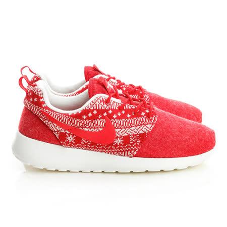 NIKE (女)籃球鞋-紅-685286661