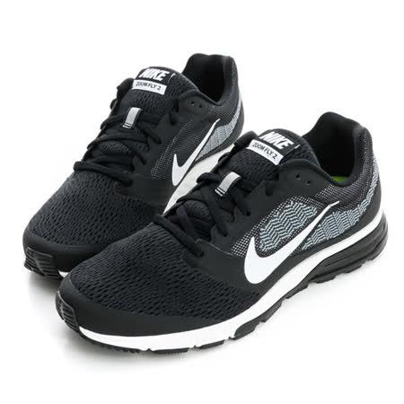 NIKE (男)慢跑鞋-黑-707606001
