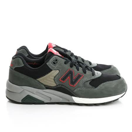 New Balance (男)經典復古鞋-灰綠-MRT580GC